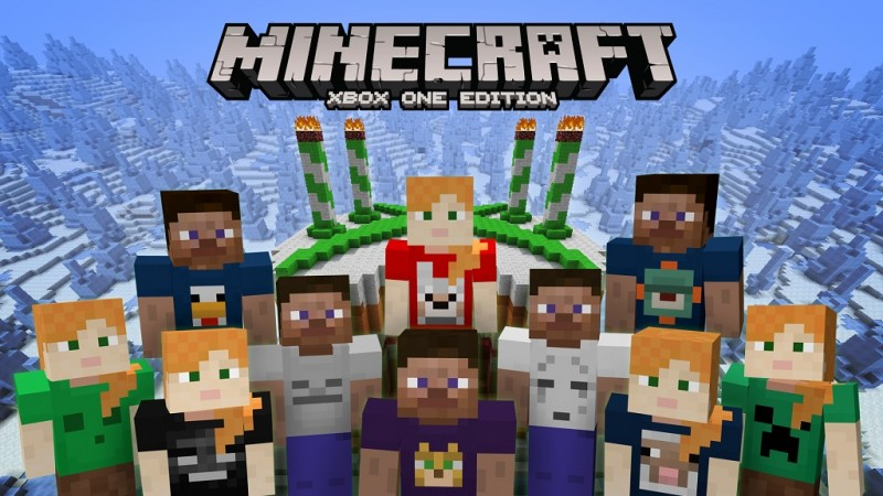 minecraft 4th birthday skin pack available now