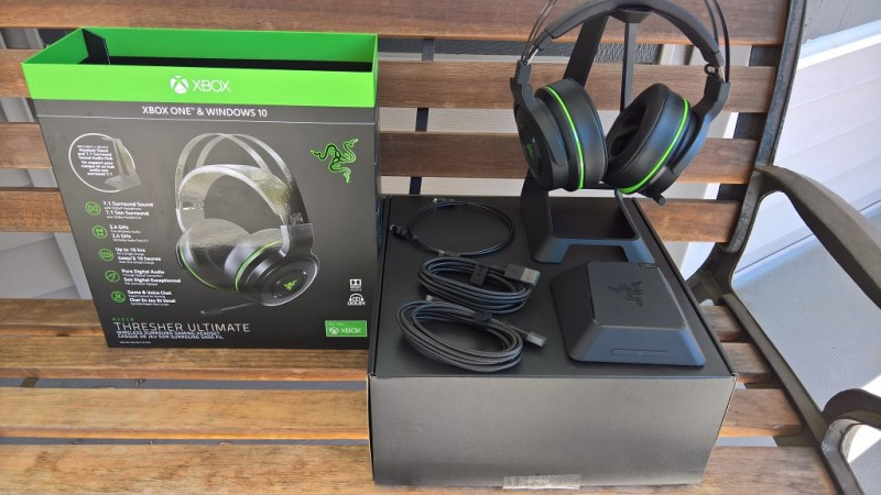 Razer Thresher Ultimate Wireless Gaming Headset Review by