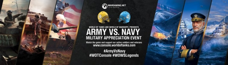 Wargaming to Host Special Event During 2018 Army vs  Navy