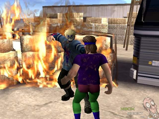 backyard wrestling dont try this at home xbox game profile