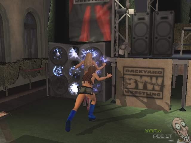 backyard wrestling don t try this at home xbox game profile