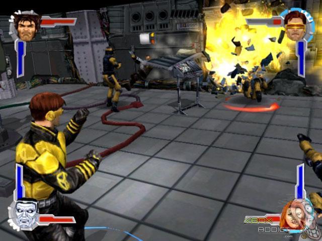 X Men Legends Original Xbox Game Profile Xboxaddict Com