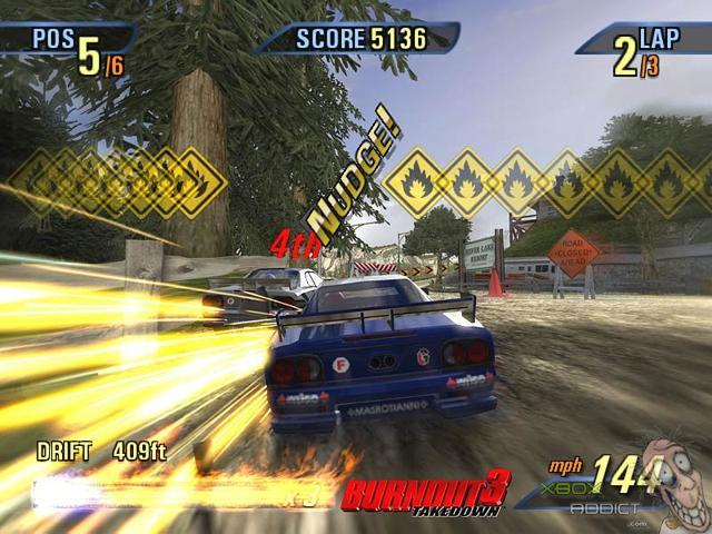 Burnout 3: Takedown (Original Xbox) Game Profile
