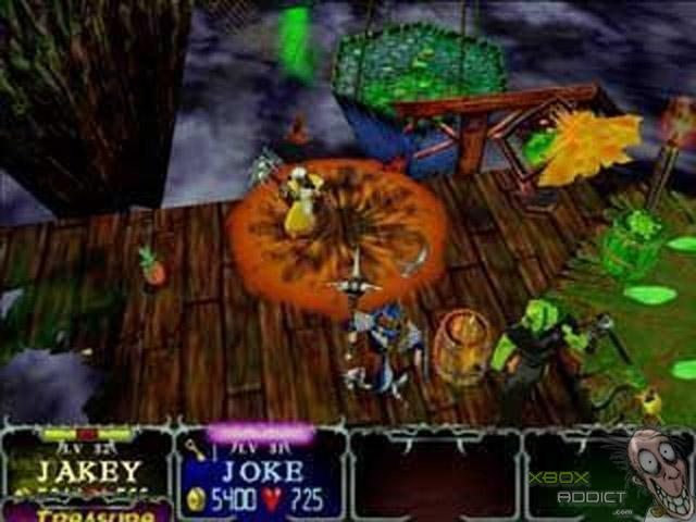 Gauntlet Dark Legacy Original Xbox Game Profile