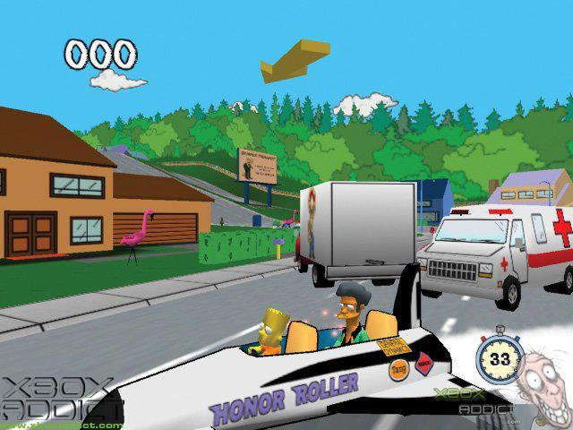 The Simpsons Road Rage (Original Xbox) Game Profile