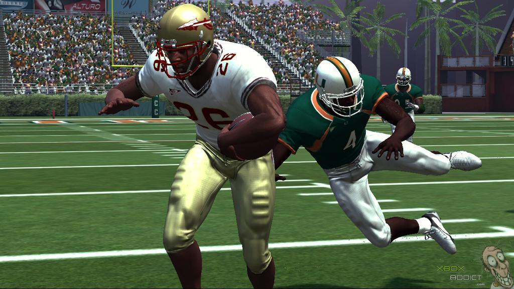 NCAA Football 07 (Xbox 360) Game Profile - XboxAddict.com Video Games Xbox 360 Ncaa Football
