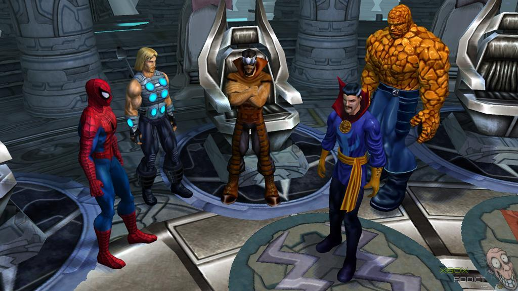 Marvel Ultimate Alliance (Xbox 360) Game Profile - XboxAddict com