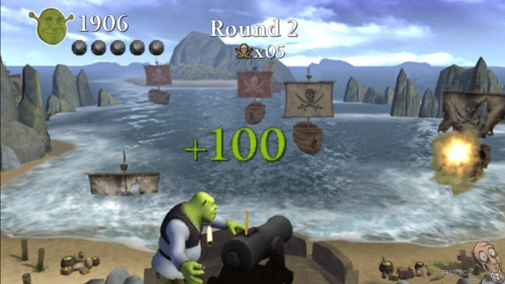 Coloring Pages Xbox 360 : Shrek the third xbox 360 game profile xboxaddict.com