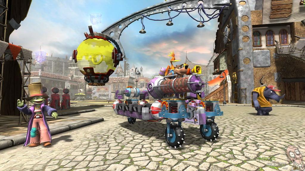 Banjo-Kazooie: Nuts & Bolts (Xbox 360) Game Profile