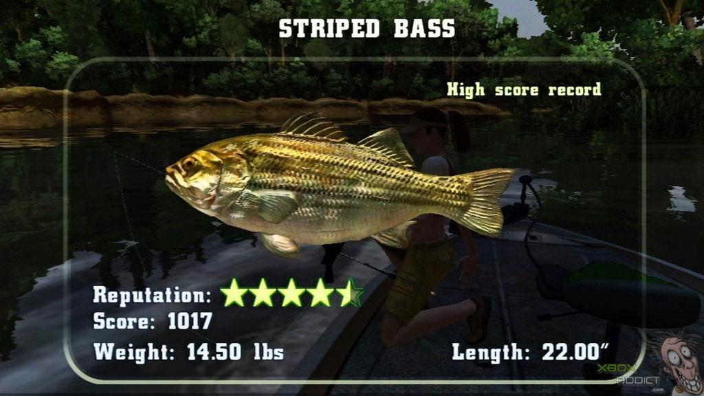 Rapala Fishing Frenzy Review Xbox 360 Xboxaddict Com