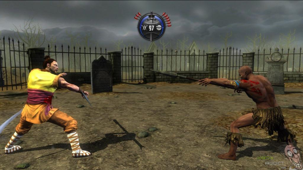 deadliest warrior ancient combat xbox 360 game profile