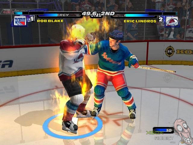 Nhl Hitz 2003 Original Xbox Game Profile Xboxaddict Com