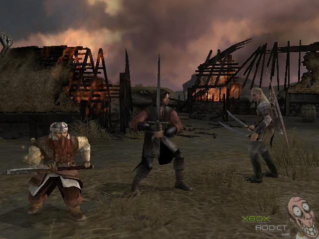 The Lord Of The Rings The Two Towers Original Xbox Game Profile