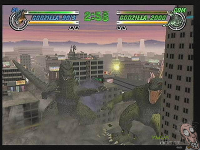 Godzilla: Destroy All Monsters Melee (Original Xbox) Game ...