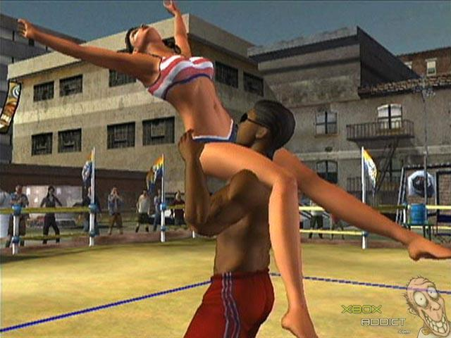 Incorporate big boob volleyball