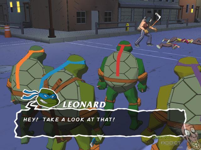 Teenage Mutant Ninja Turtles Original Xbox Game Profile Xboxaddict Com